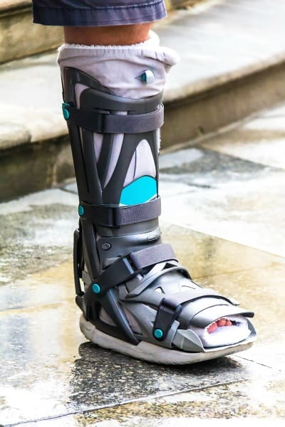 Air Filled Walker Boot